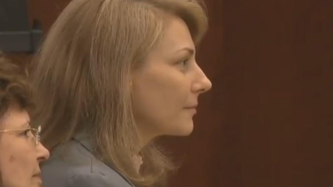 Amanda Hayes in court