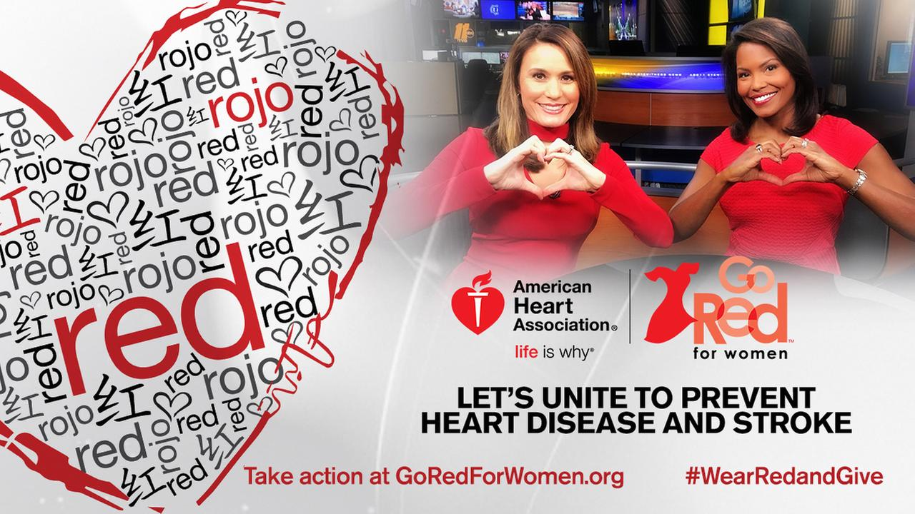 ABC11 supports Go Red for Women