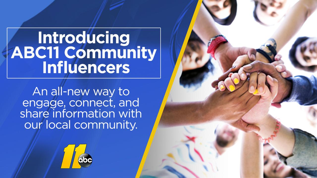 Meet the ABC11 Community Influencers