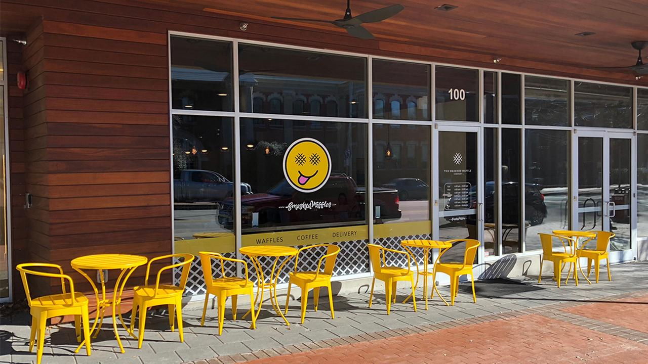 Smashed Waffles Opens Second North Carolina In Raleigh