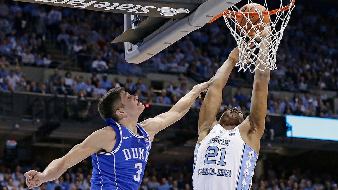 Three things from North Carolina's win over Duke