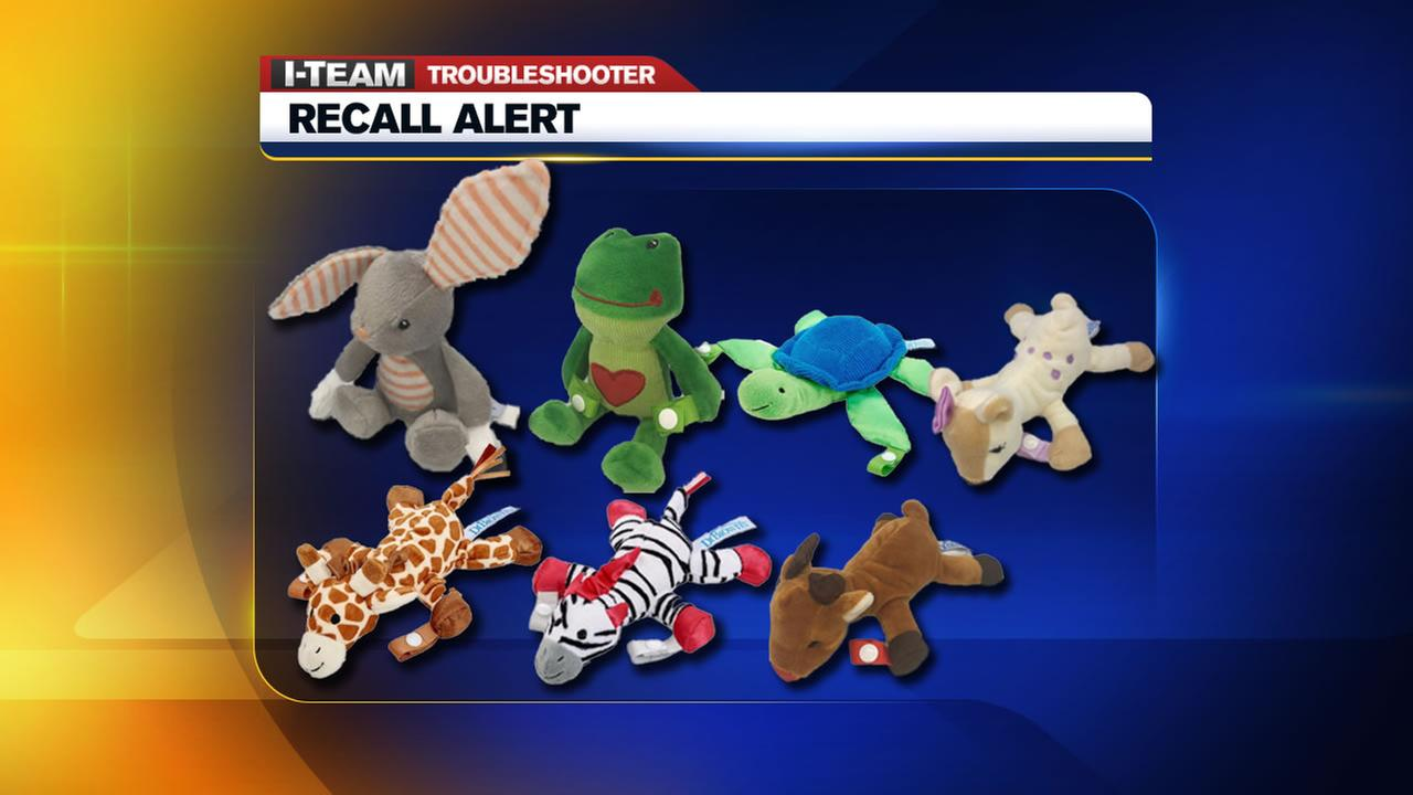 Nearly 600,000 pacifier and teether holders recalled due to choking ...