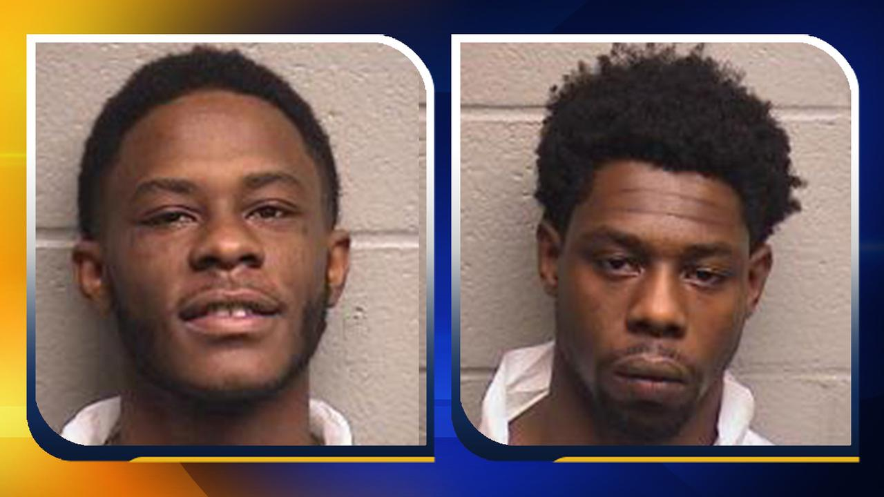 Marquize Jerrell Knight and Frankie George Grimes