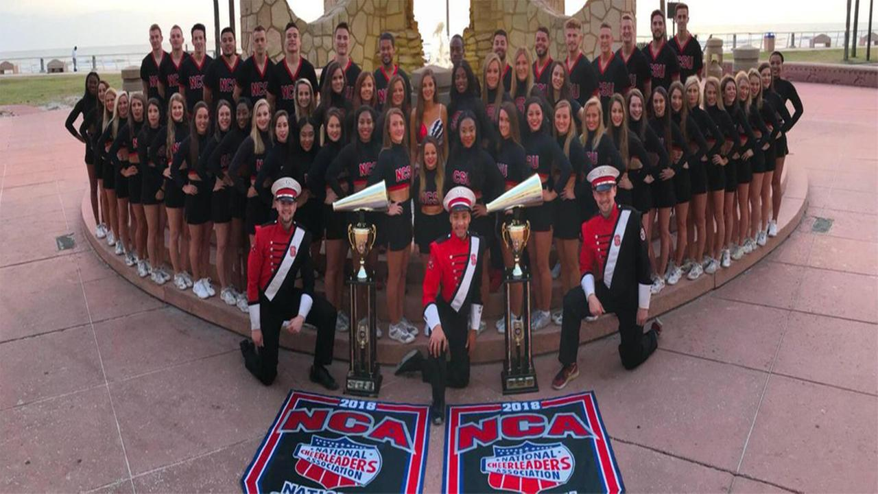 NC State cheer wins 2 national titles