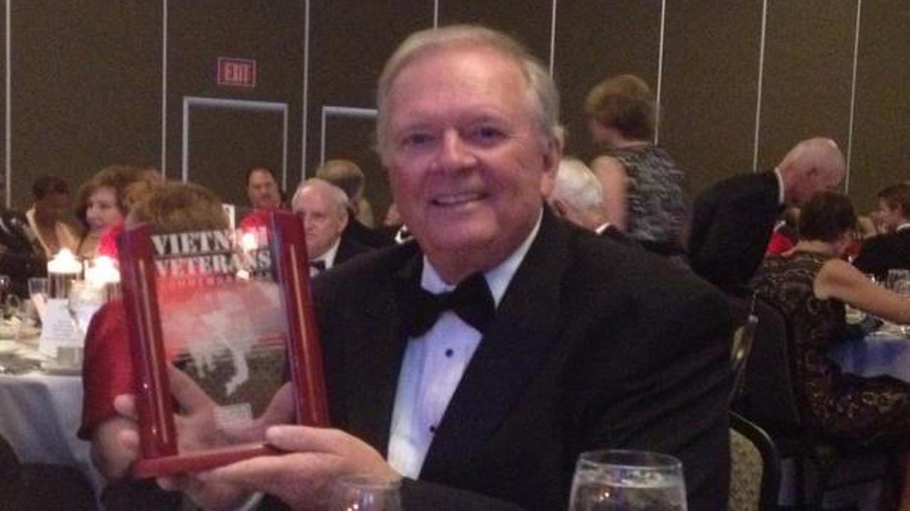 ABC11s Larry Stogner was honored Saturday night at the USO  of NC Gala with the Vietnam Veterans Commemoration Award.