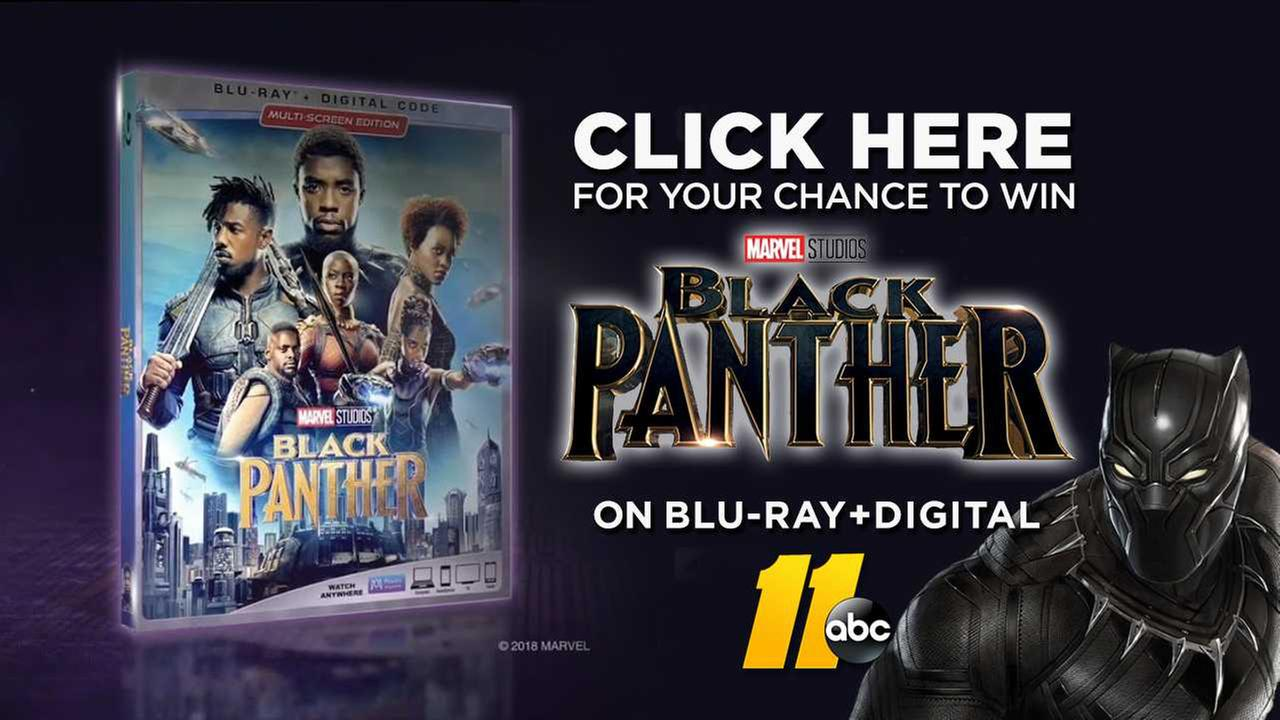 ABC11 Black Panther DVD giveaway