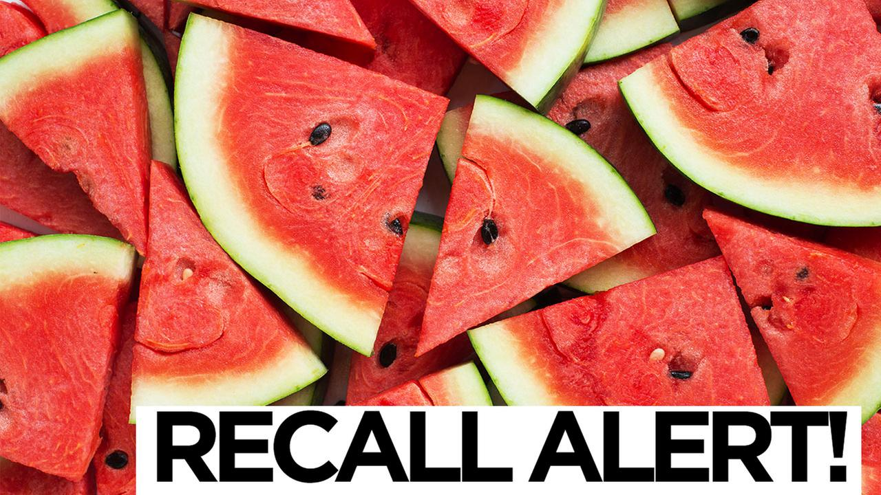 Recall Alert Throw away pre-cut melon