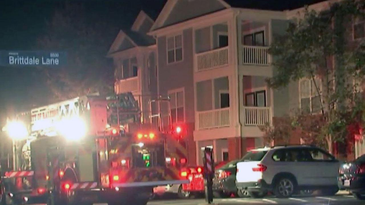Fire forces out some Brier Creek apartment residents