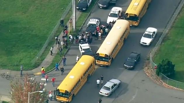 Marysville-Pilchuck High School in Marysville, about 30 miles north of Seattle. <span class=meta></span>