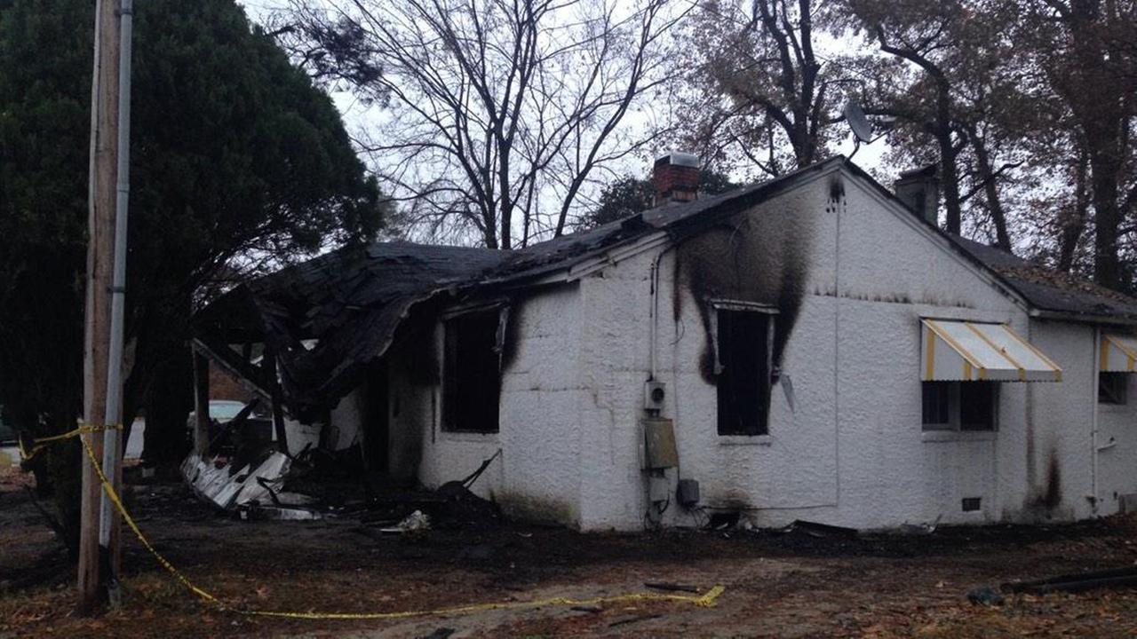 The Fayetteville Fire Department says a woman died Sunday morning as a result of a house fire in the 900 block of Washington Drive.