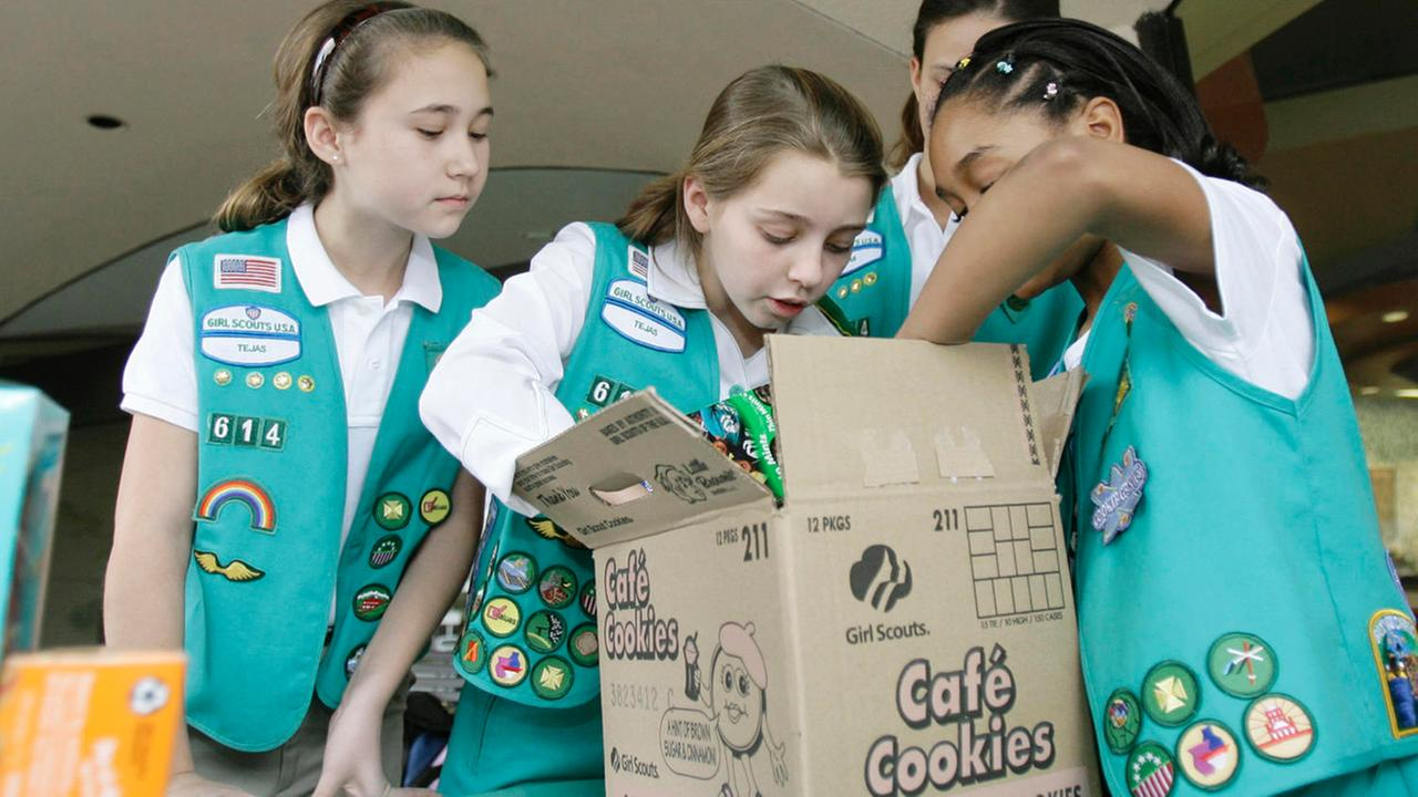 Girl Scout cookie season starts
