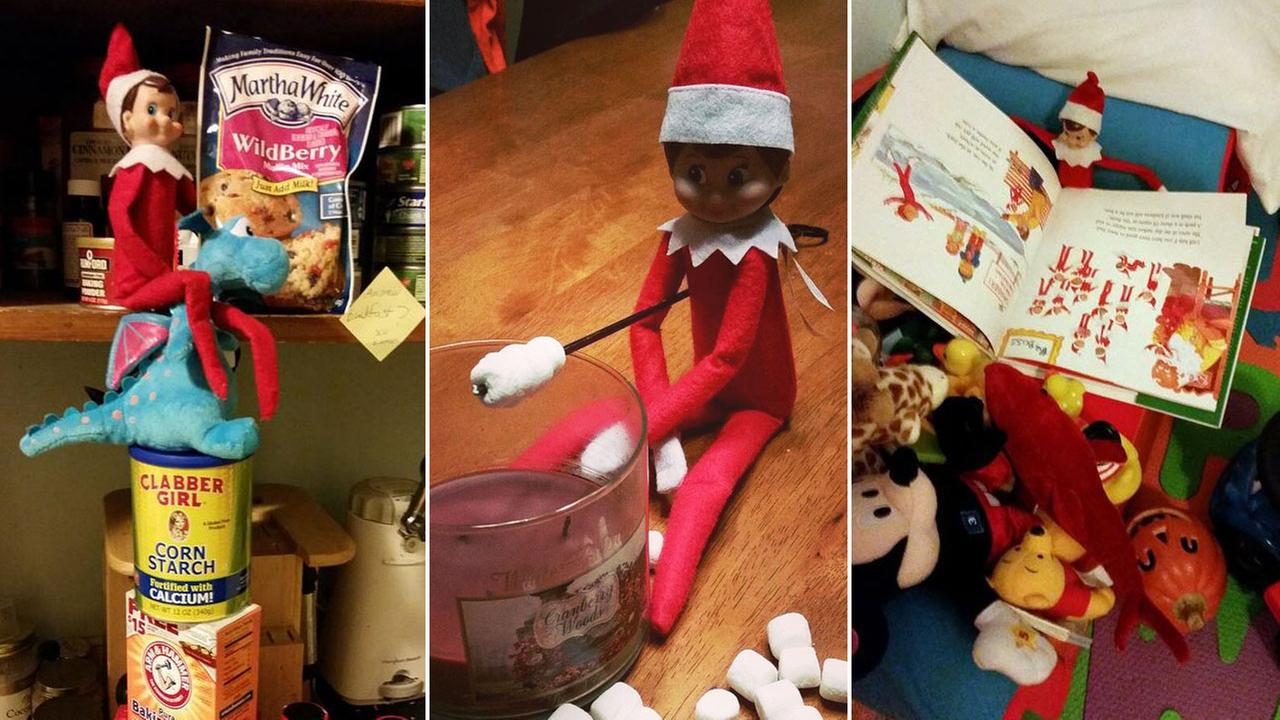 Elf on the Shelf photos from viewers