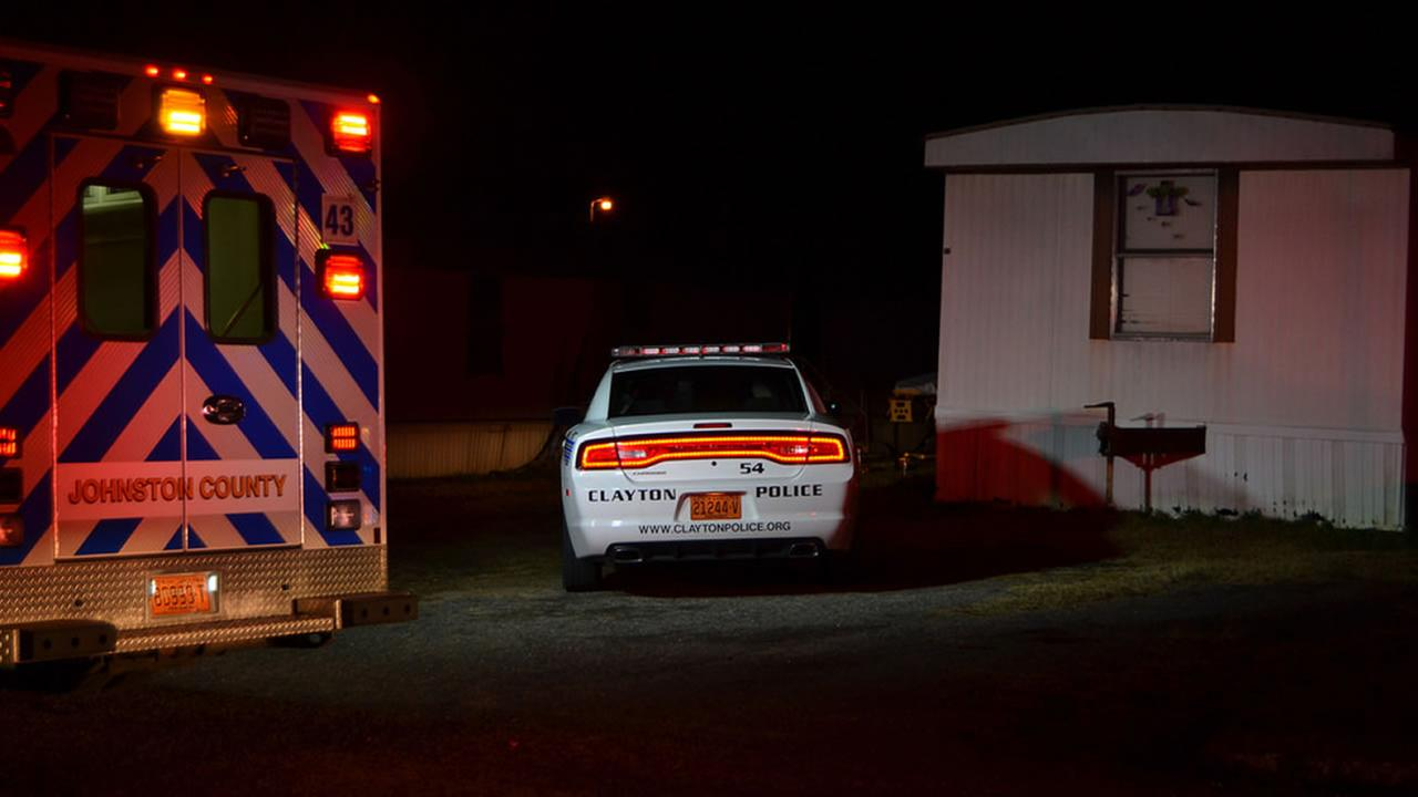Clayton police investigate a fatal shooting.