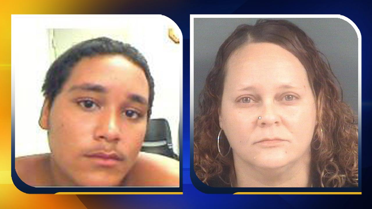 Zachary Locklear and Kathy Bell. Photos Courtesy: Cumberland County Sheriffs Department.