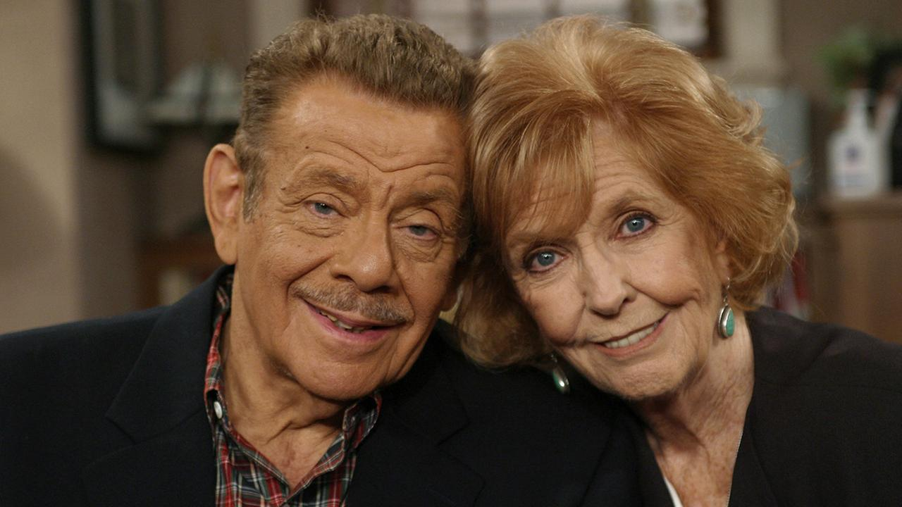 Anne Meara and husband Jerry Stiller