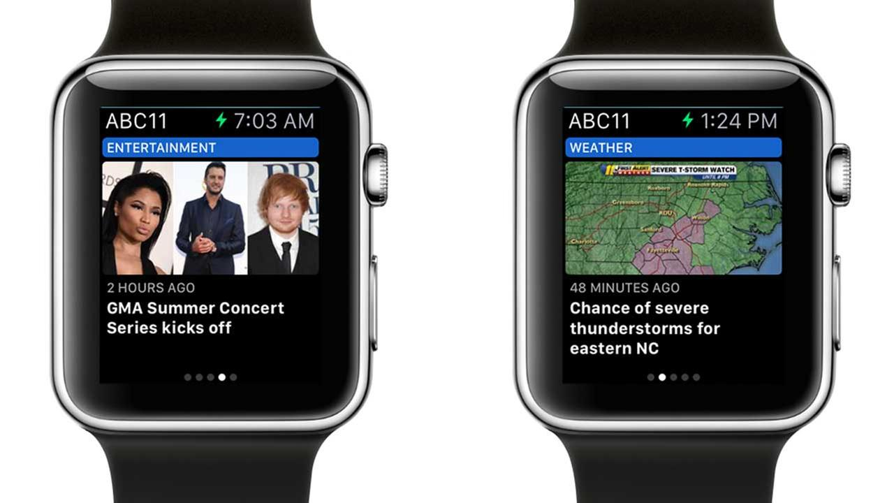 ABC11 iWatch app