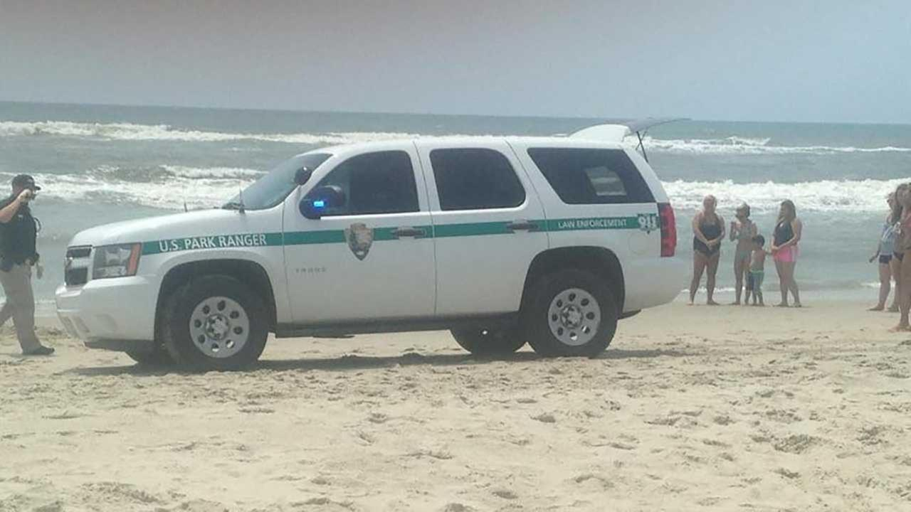 Shark attack reported in Ocracoke.
