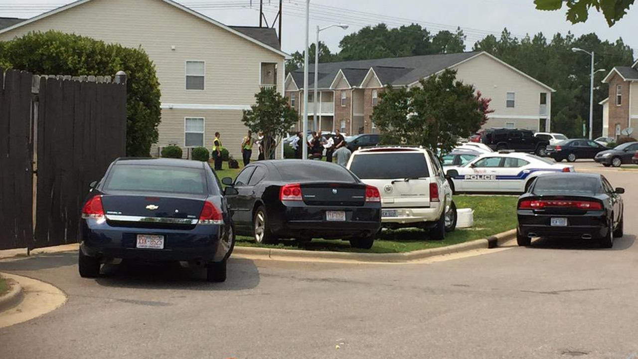 Fayetteville Police responded to a barricade situation at an apartment complex