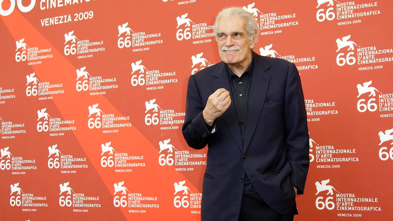 Omar Sharif at Venice Film FestivalJoel Ryan
