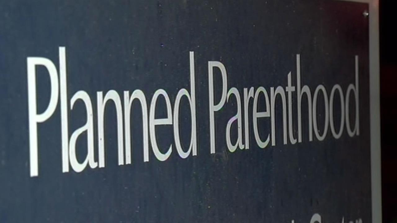 A sign is seen outside of a Planned Parenthood in this undated file photo.