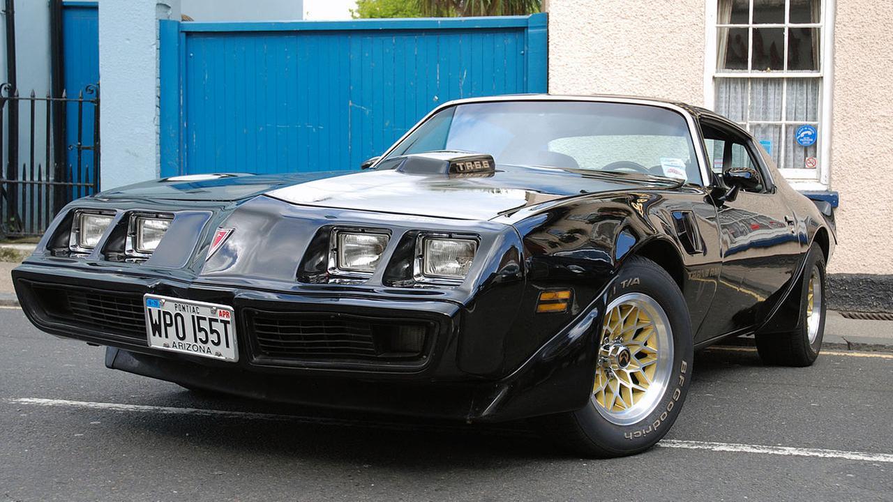 A Pontiac Trans Am