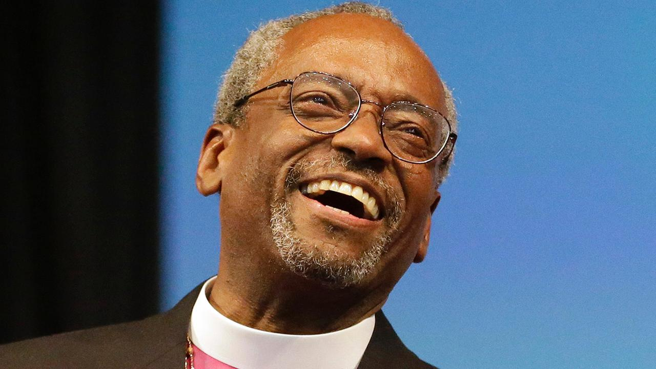 Bishop-elect Michael Curry