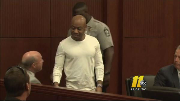 <div class='meta'><div class='origin-logo' data-origin='none'></div><span class='caption-text' data-credit='WTVD Photo'>Hayes was convicted of Ackerson's murder. He will serve a life sentence.</span></div>