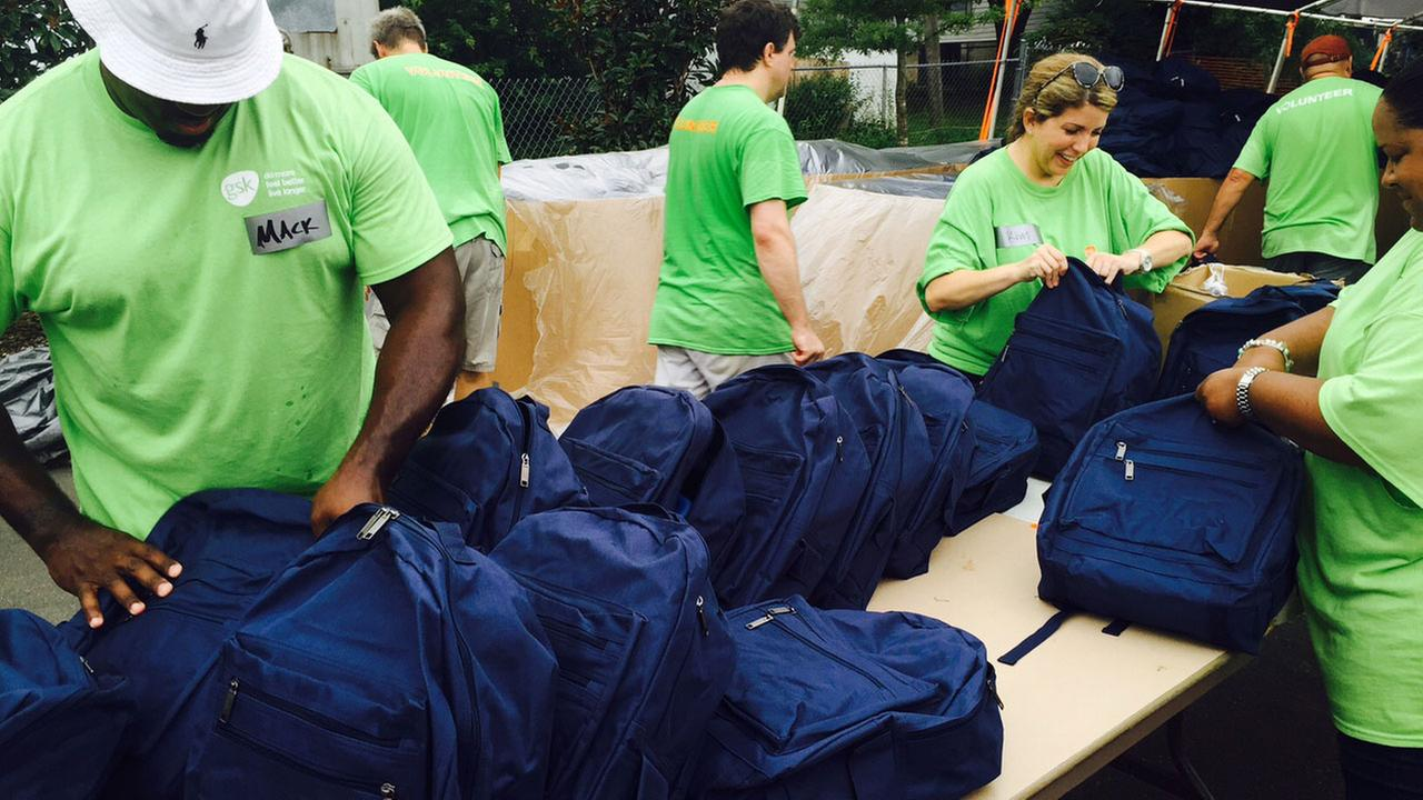 Durham Rescue Mission holds annual back-to-school giveaway Wednesday.
