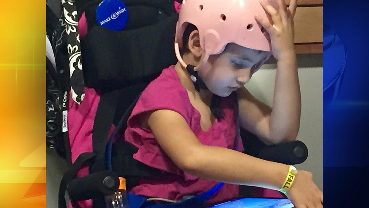 5-year-old Madison Pino is battling a one in a million neurological disorder called Alternating Hemiplegia of Childhood.