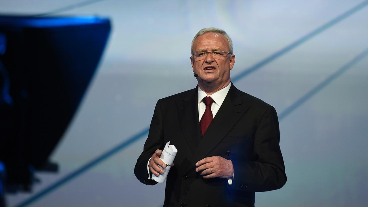 Martin Winterkorn during the Volkswagen group night on the eve of the Frankfurt Auto Show IAA in Frankfurt, Germany, Monday, Sept. 14, 2015.