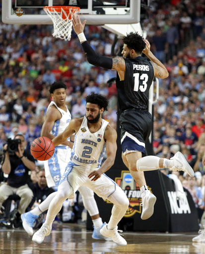 "<div class=""meta image-caption""><div class=""origin-logo origin-image none""><span>none</span></div><span class=""caption-text"">North Carolina's Joel Berry II (2) drives against Gonzaga's Josh Perkins (13). (AP Photo/Mark Humphrey)</span></div>"