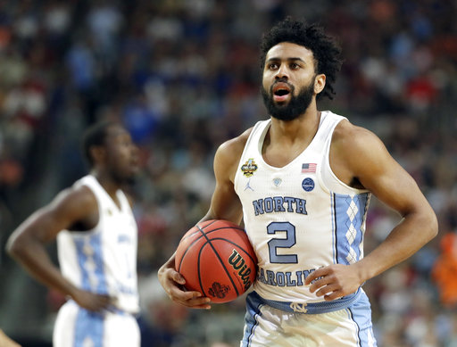 "<div class=""meta image-caption""><div class=""origin-logo origin-image none""><span>none</span></div><span class=""caption-text"">North Carolina's Joel Berry II (2) reacts after a play. (AP Photo/Mark Humphrey)</span></div>"