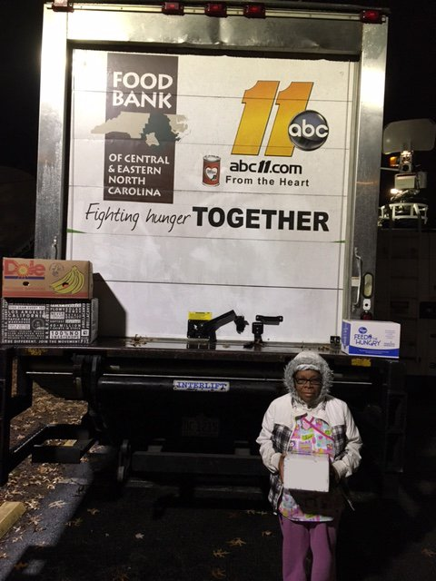 <div class='meta'><div class='origin-logo' data-origin='none'></div><span class='caption-text' data-credit=''>On her way to work before the sun was up, Carol Jones fed a family by donating to the ABC11 Together Food Drive in Durham</span></div>