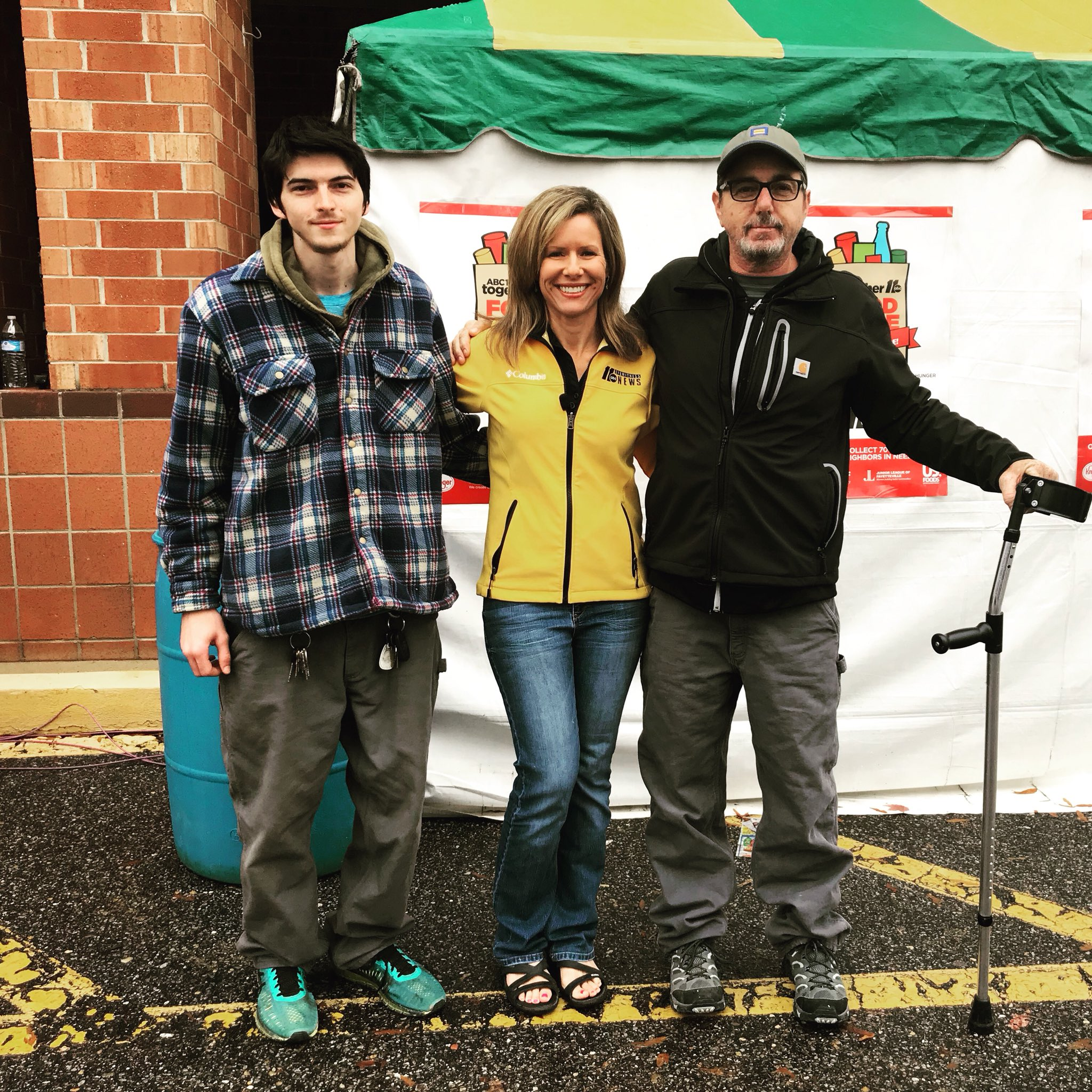 <div class='meta'><div class='origin-logo' data-origin='none'></div><span class='caption-text' data-credit=''>Thank you Bryant and Corbett Tant for the $500 donation to the ABC11 Together Food Drive! The father/son duo donate every year!</span></div>