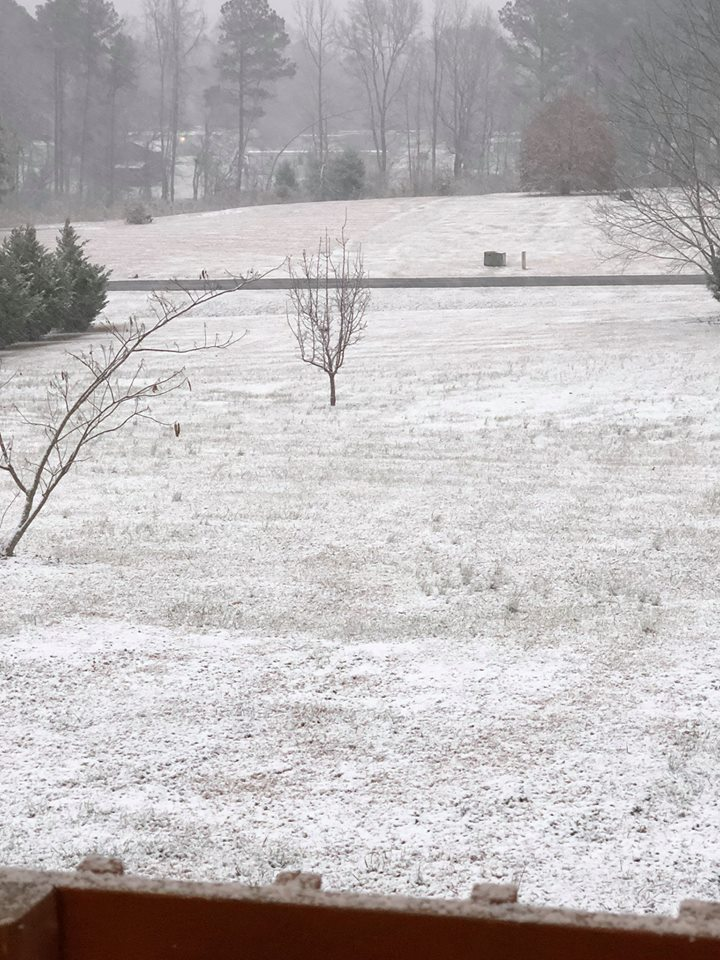 <div class='meta'><div class='origin-logo' data-origin='none'></div><span class='caption-text' data-credit='Credit: Abbe Few'>Snow in Granville County between Oxford and Stovall</span></div>