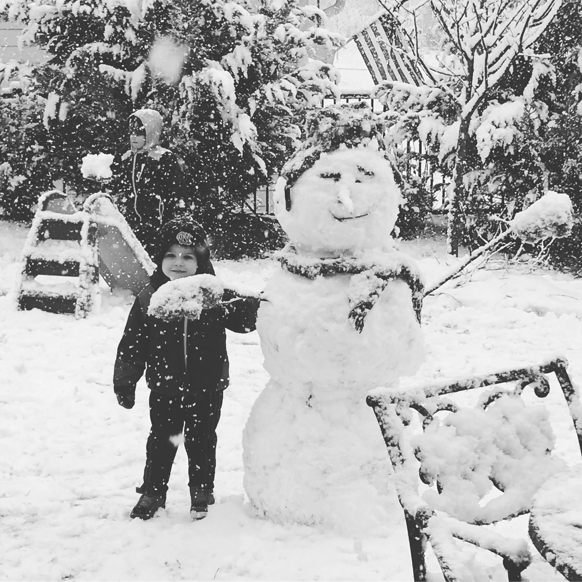 "<div class=""meta image-caption""><div class=""origin-logo origin-image none""><span>none</span></div><span class=""caption-text"">A snowman in Pittsboro (Credit: Patricia Gsellers)</span></div>"