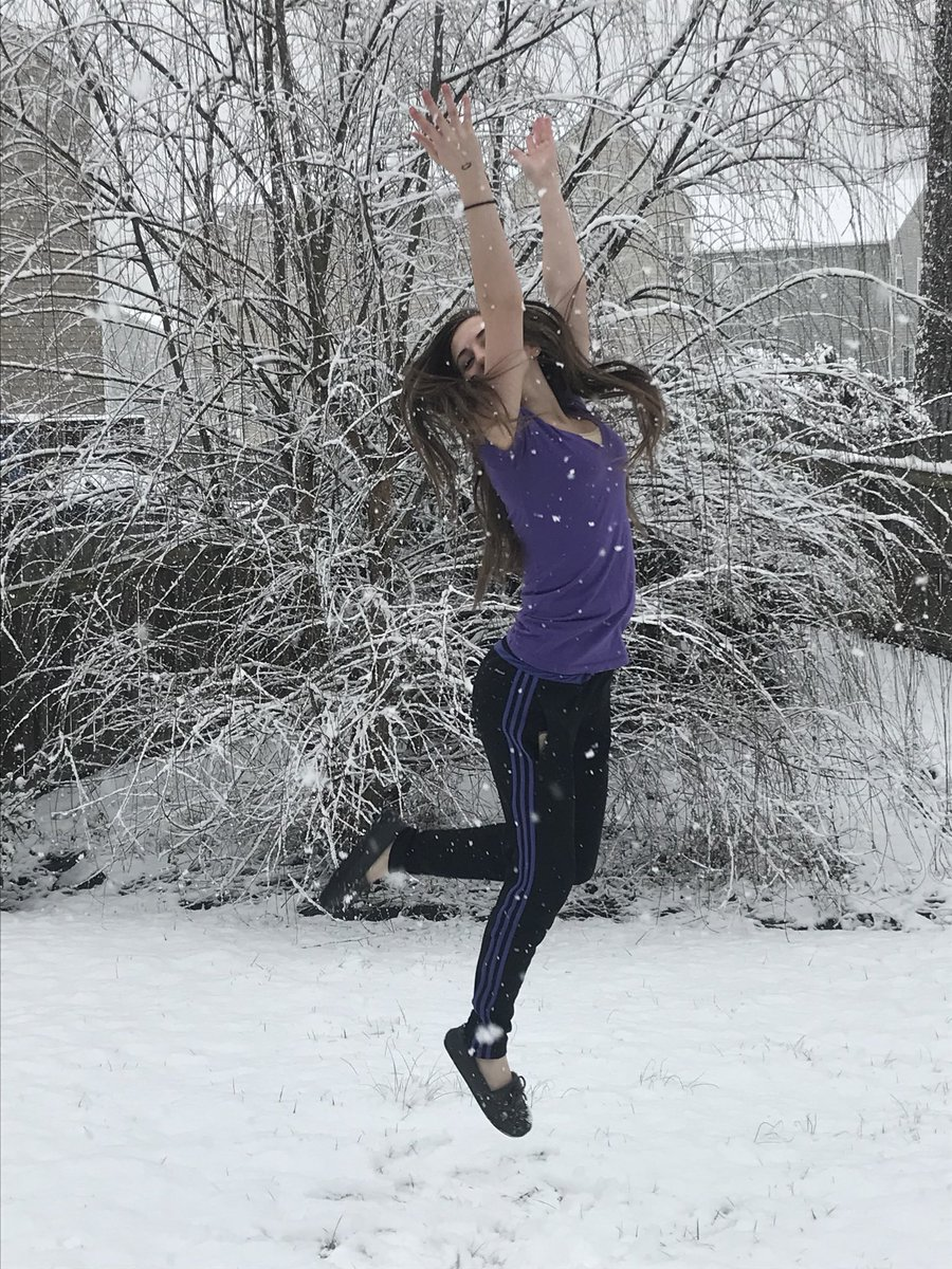 "<div class=""meta image-caption""><div class=""origin-logo origin-image none""><span>none</span></div><span class=""caption-text"">Someone is enjoying the snow in Creedmoor (Credit: Maxxcoates/Twitter)</span></div>"