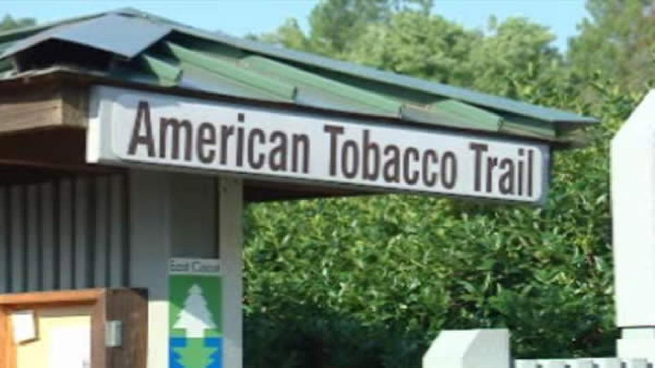 American Tobacco Trail sign