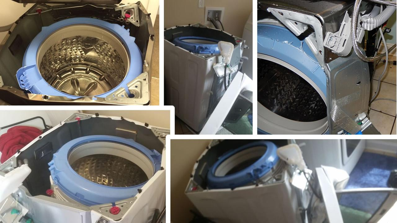 Safety Concerns for wash dryer