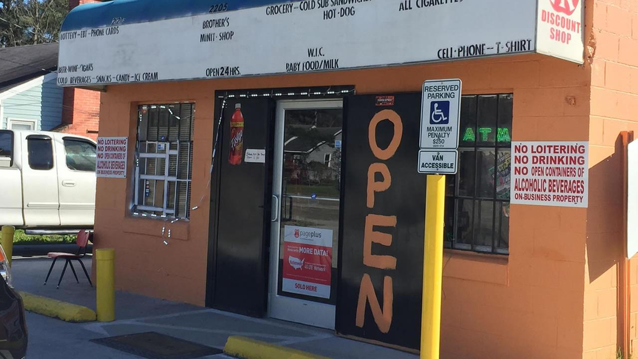 It happened at Brothers Minit Shop on Martin Luther King Boulevard