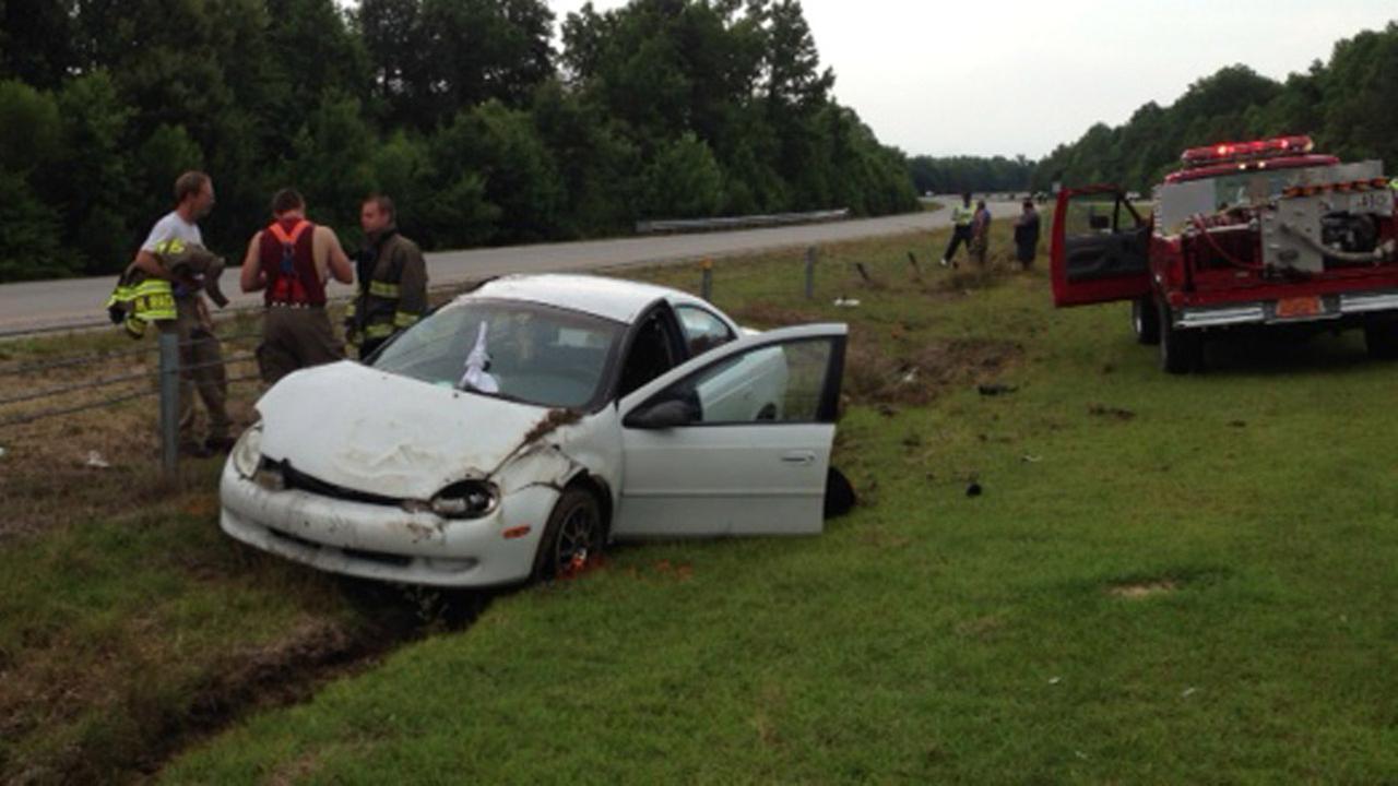 Passenger\'s arm severed in Johnston County crash | abc11.com