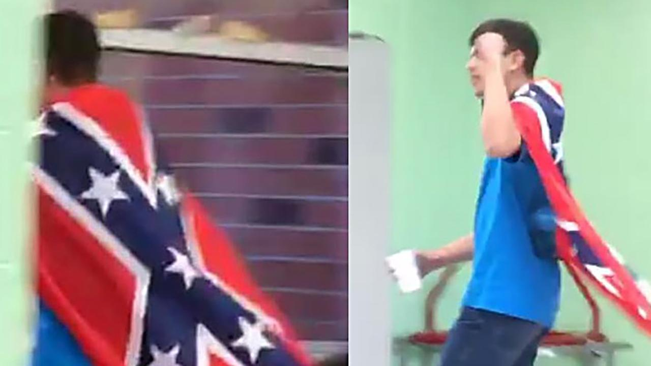 3 students charged after Confederate flag incident