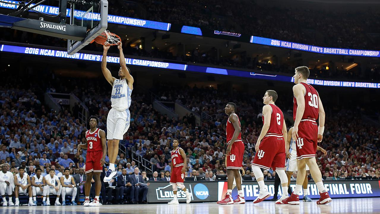 Brice Johnson and the Tar Heels did pretty much whatever they felt like from the opening tipoff Friday night against overmatched Indiana.