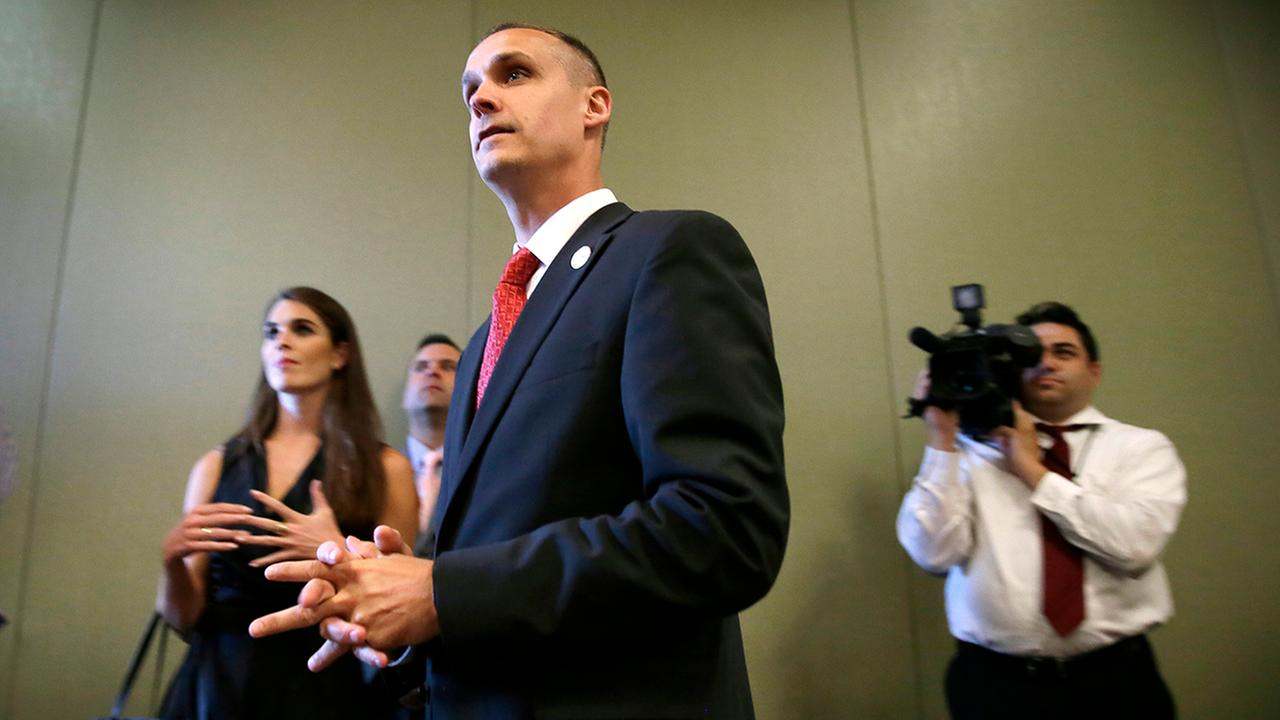 Donald Trumps campaign manager Corey Lewandowski.