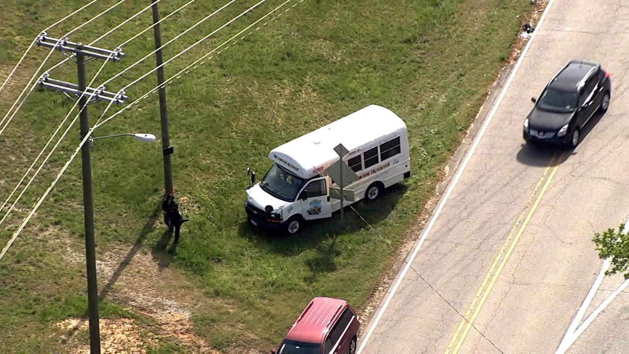 Daycare bus involved in accident between Cary and Apex