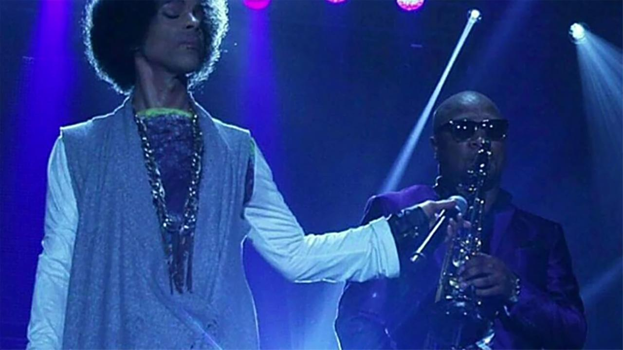 Marcus Anderson played sax for Prince in New Power Generation.