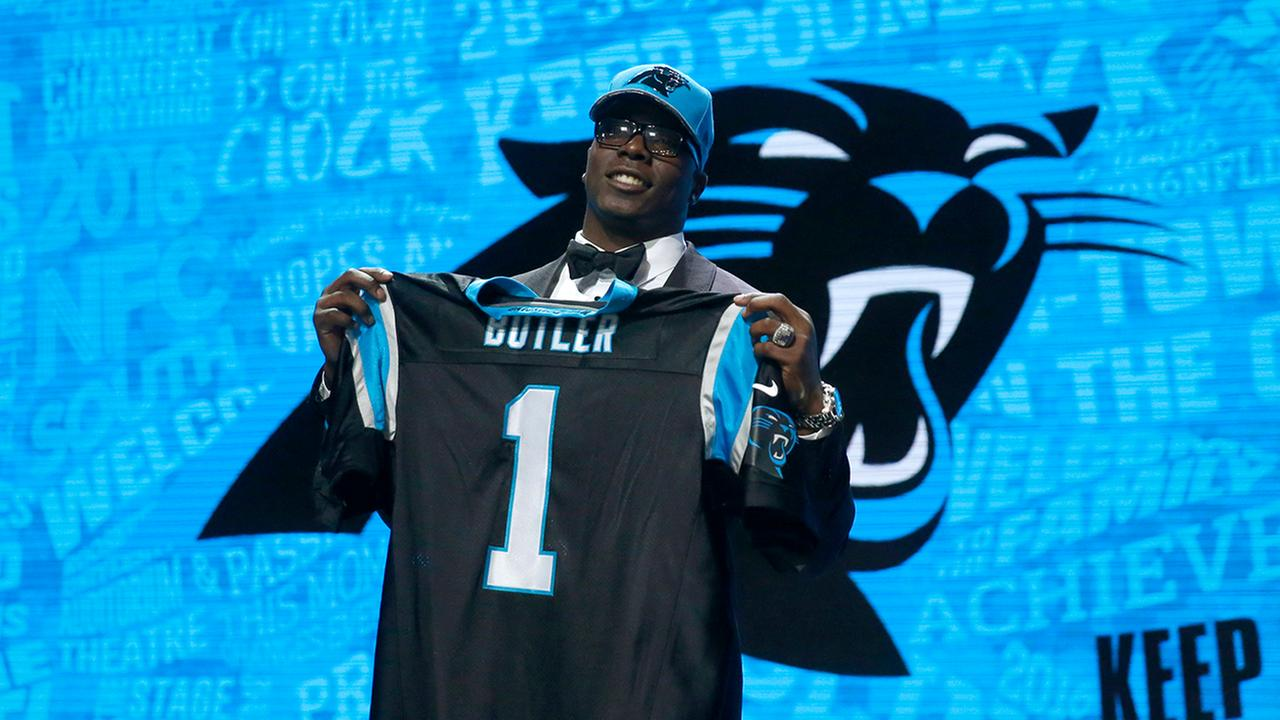 Vernon Butler adds a massive presence to the interior of the Panthers defense.