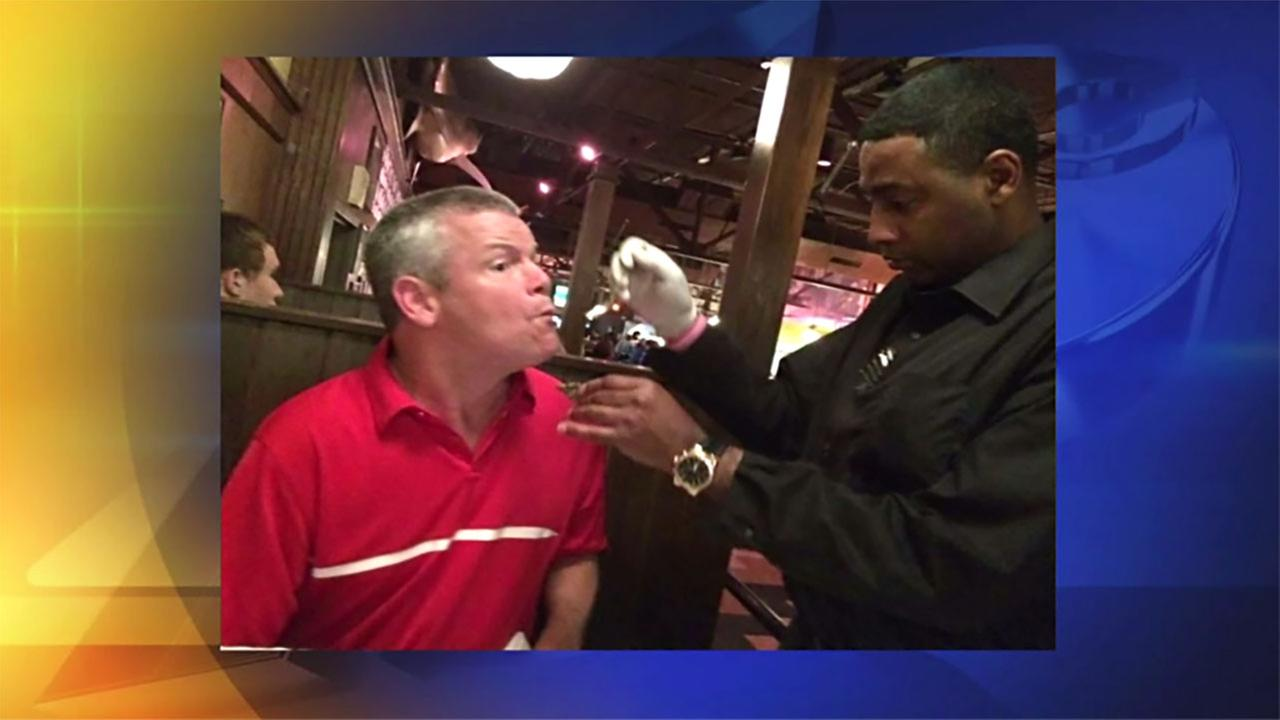 A diner with cerebral palsy is touched by his servers act of kindness.
