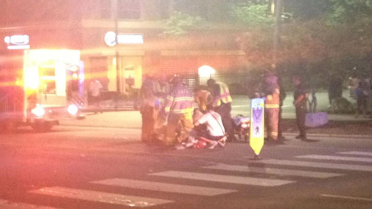 Chapel Hill pedestrian accident