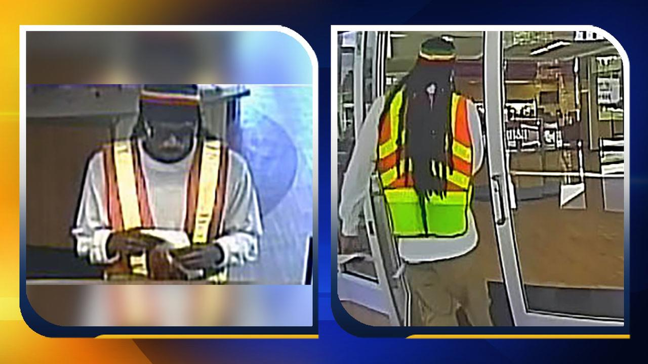 The BB&T bank robbery suspect was seen in surveillance images.